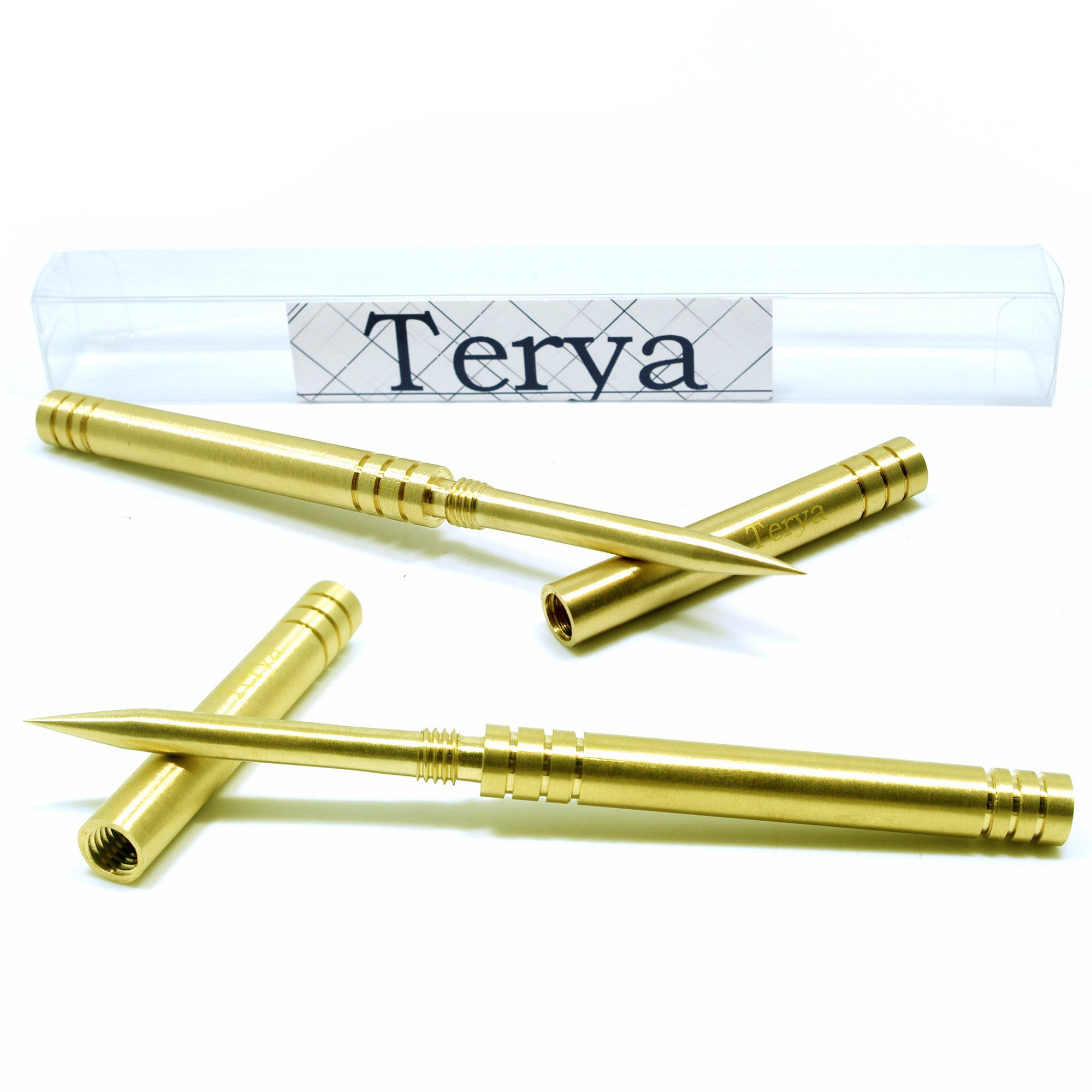 Terya All Copper Ice Pick with Cover Kitchen Tool Bar Tool 2PC