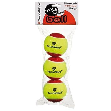 2d8521fcf05 Tecnifibre My New Ball Mini Tennis Balls - Pack of 3  Amazon.co.uk  Sports    Outdoors
