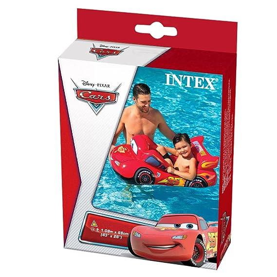Intex - Barca, 109 x 66 cm, diseño cars (58391NP)