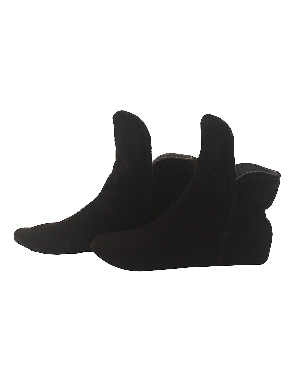 RAIKOU Kultpiercing Chaussons en Micro Polaire avec ABS /& Semelle Antid/érapante Super Moelleux Chaussons pour Homme et Femme