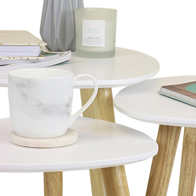 Hartleys Retro Nest of Tables Choice of Colour