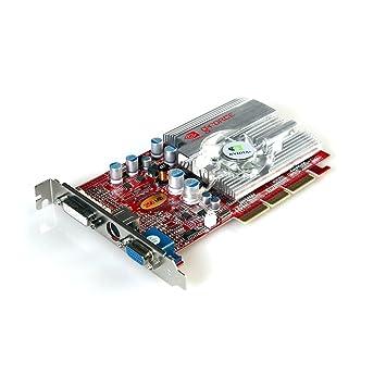 Nvidia geforce fx 5700 videocard, 256mb ddr2 memory, agp 4x / 8x.
