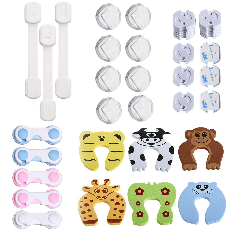 Home Bad Babyproof Adhesive Baby-sicherheits-Steckdose Steckdose Abdeckung F/ür Kinderzimmer