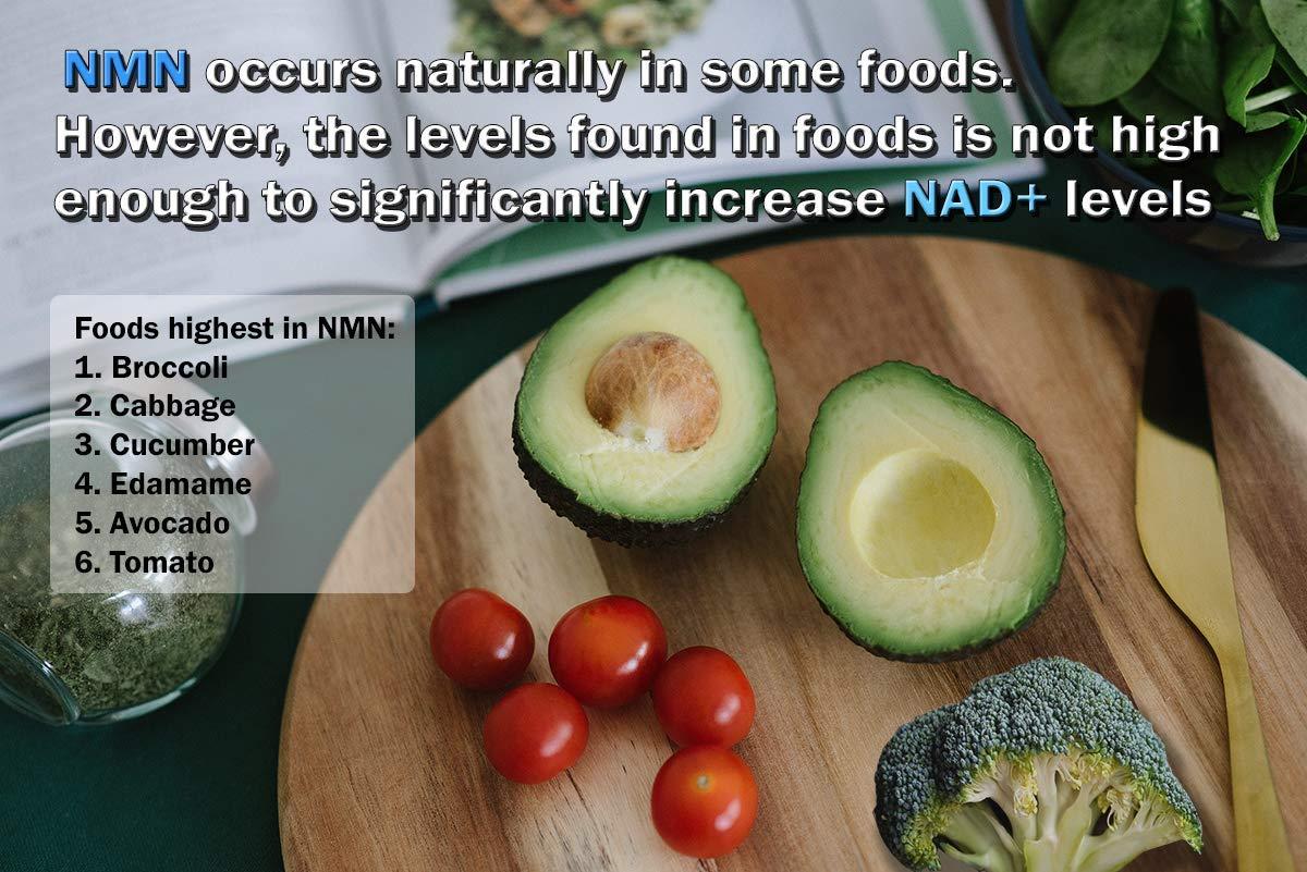 NMN β-Nicotinamide Mononucleotide (125mg - 30 Capsules) | Increase NAD+ Levels | Anti-Aging | DNA Repair | Vegan