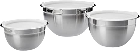 Review AmazonBasics Stainless Steel 3-Piece