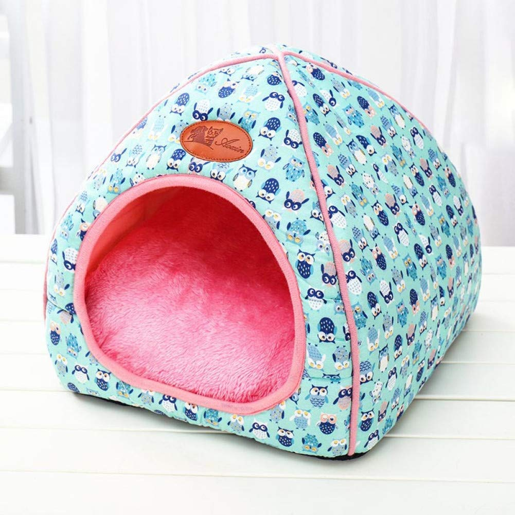 C3 48X48X50cm Kennel Kennel and Folding Pet Dog Cat Bed Pillow for Pet Puppies Travel Pet Sleeping Bag