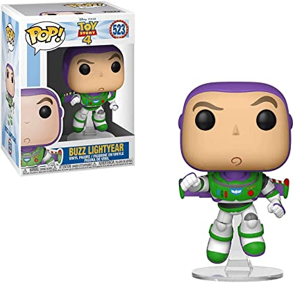 Funko- Pop Vinilo: Disney: Toy Story 4: Buzz Lightyear Figura Coleccionable, Multicolor, Talla Única (37390)