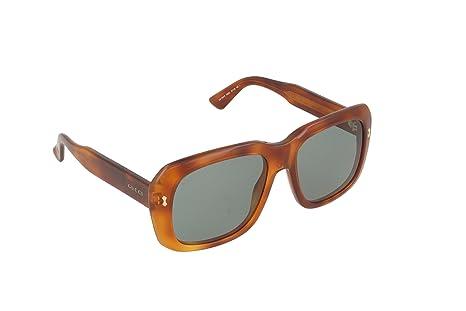 c68283b40fdc2 Image Unavailable. Image not available for. Colour  Gucci Retro Square  Sunglasses ...