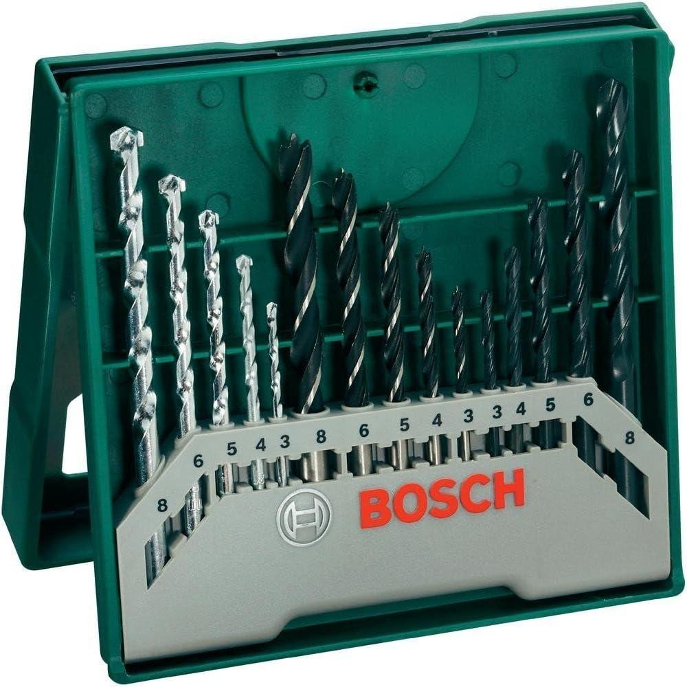 Bosch 2607019511 Set de fijaci/ón pr/áctico con 173 unidades