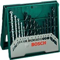 Bosch 2607019675 - Set de 15 brocas mixto: mini x-line