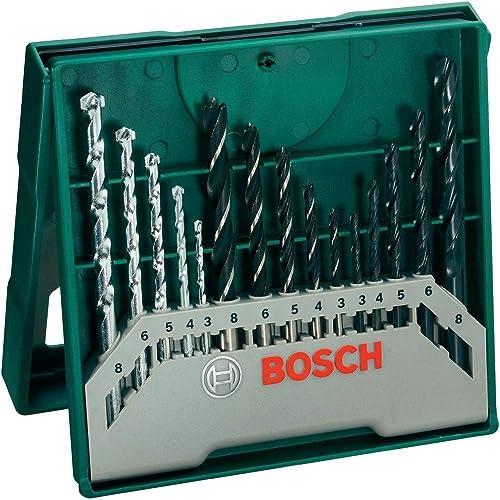 Bosch Mini X-Line - Set de 15 brocas mixto: mini x-line (ref. 2607019675)