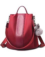 e4ff39e0df Charmore Women Backpack Ladies Rucksack Waterproof Nylon School bags  Anti-theft Dayback Shoulder Bags