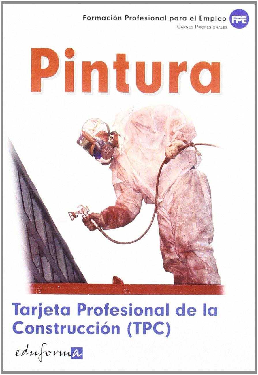Tarjeta Profesional De La Construcción Tpc . Pintura. Carnés ...