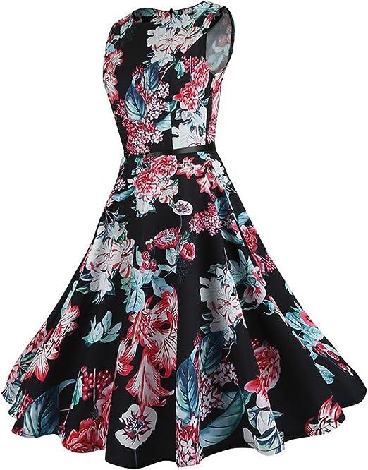 MORETIME sukienka w stylu vintage, lata 2019, nowość, sukienka w stylu retro, sukienka rockabilly, sukienka w stylu lat 50., sukienka koktajlowa: Odzież