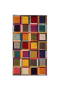 Flair Rugs Tappeto Spectrum Waltz - Design Astratto Moderno & Dinamico - Colorato - 160x230cm