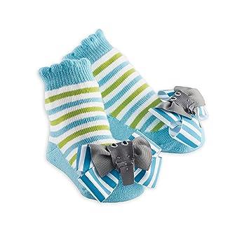 Amazon Com Mud Pie Elephant Socks 0 12 Months Baby