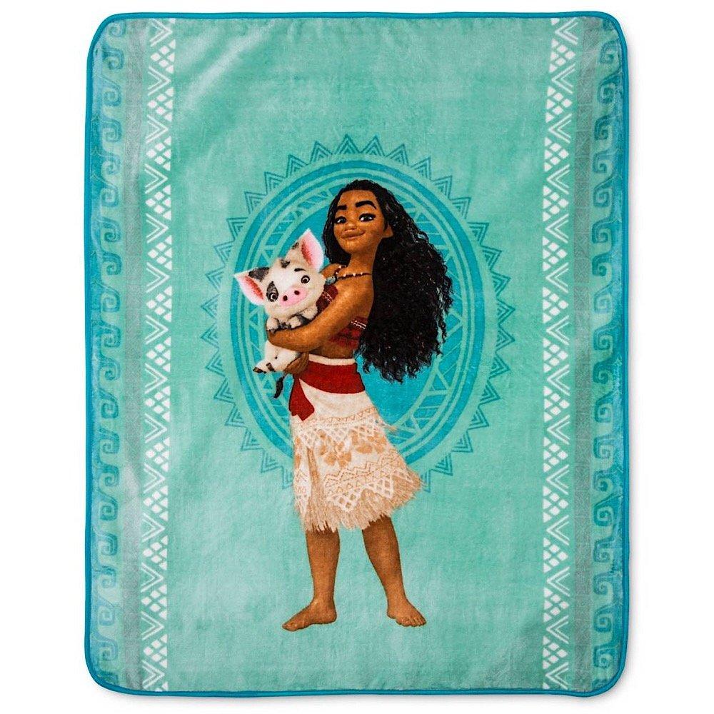 Disney Moana Girls Throw Blanket