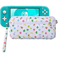 Lamyba Carrying Case Cover Sleeve for Nintendo Switch/Switch Lite with Game Slots and Shoulder Strap, Inspired by Animal…
