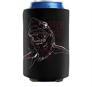 Come To the Shark Side 12-16 OZ Bottles Neoprene Insulated Beer Can Sleeves Non-Slip Soda Can Cooler Sleeves Fully Stitched Fun Set Of 2