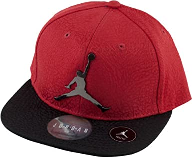 NIKE Snap Back Baseball Hat Cap Jordan Boys Youth 8//20 Black White Gray Jumpman