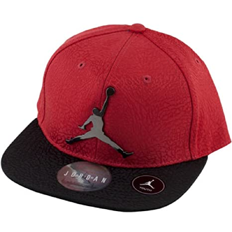 new products 03b90 cfdb9 Image Unavailable. Image not available for. Color  NIKE Jordan Elephant  Print Snapback Cap - Youth ...