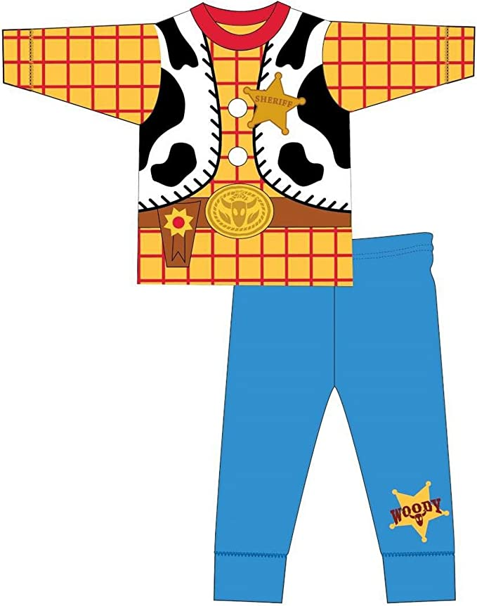Toy Story - Pijama de manga larga infantil estilo disfraz de Woody ...