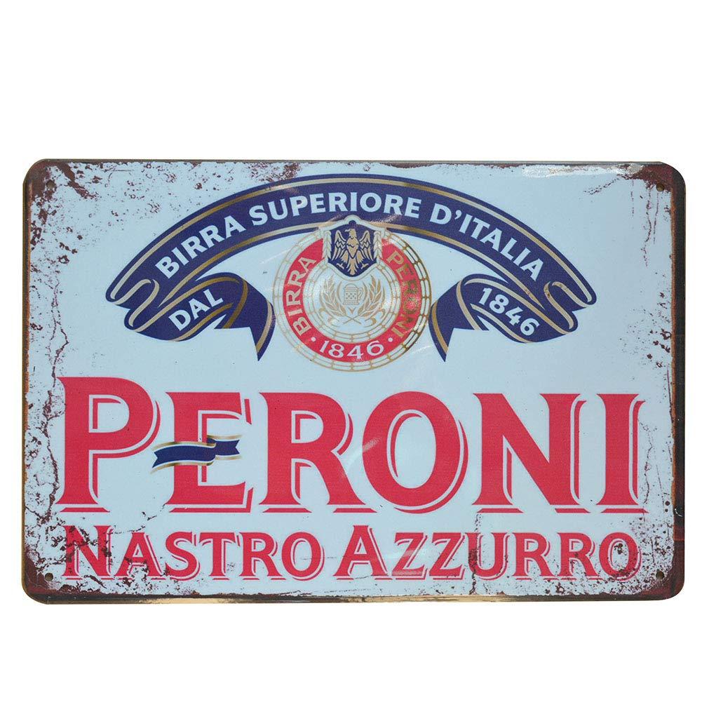 Amazon.com: Peroni Nastro Azzuro Retro Vintage cerveza ...
