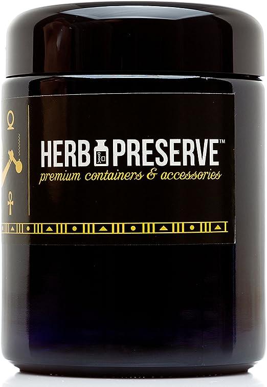 Amazon Com Herb Preserve Half Oz 250 Ml Capacity Medium Size