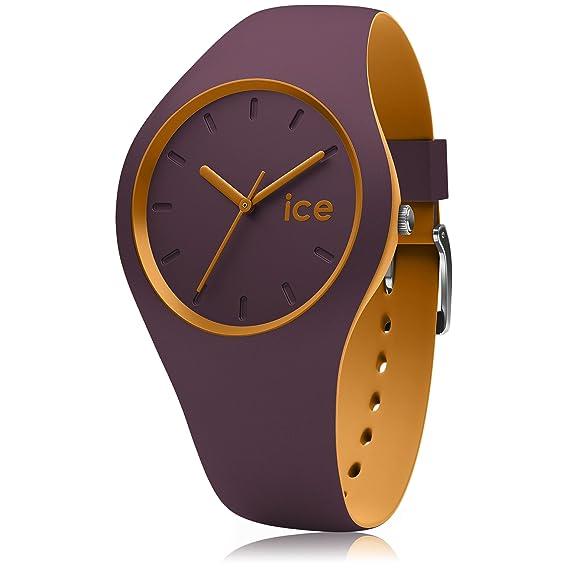 Ice-Watch - ICE duo Fig Honey - Reloj porpora para Mujer con Correa de