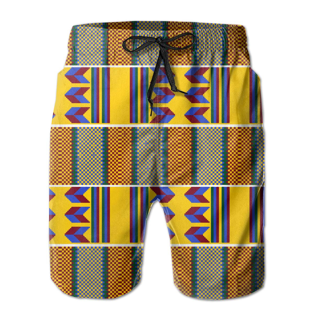 African Wave Mens Beach Surf Shorts Board Shorts Swimming Trunks