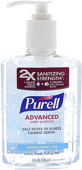Amazon Com Purell Hand Sanitizer Bottle Purell Watches