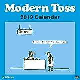 2019 Modern Toss Mini Grid Calendar - teNeues Humour Calendar - 17.5 x 17.5 cm