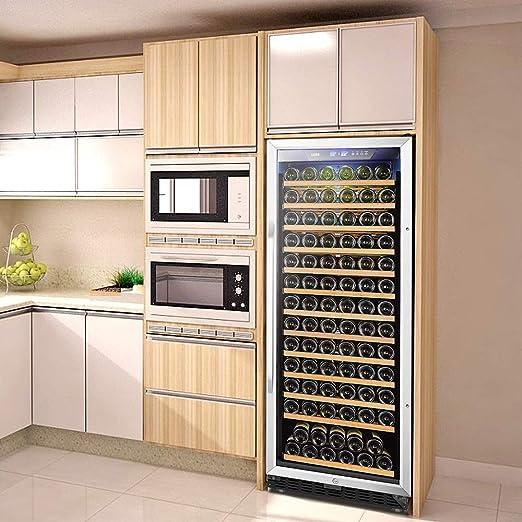 Lanbo Compresor de vino integrado, refrigerador de una sola zona ...