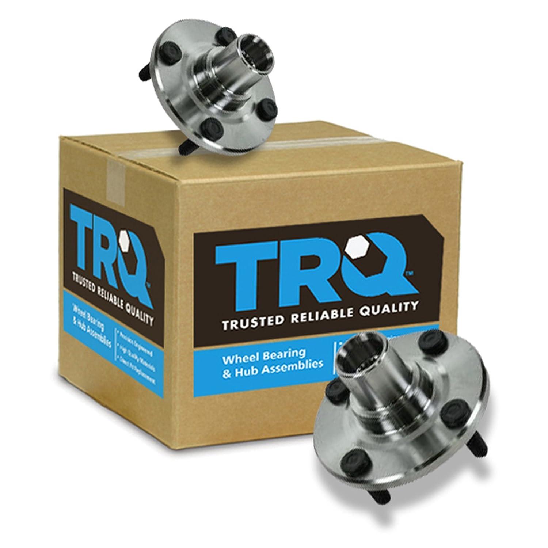 TRQ Front Wheel Hub /& Bearing Pair Set Kit for 93-02 Corolla Prizm
