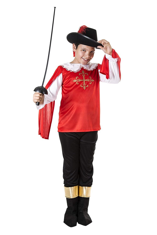 Costumizate! Disfraz de Mosquetero Talla 7-9 Especial para niños ...