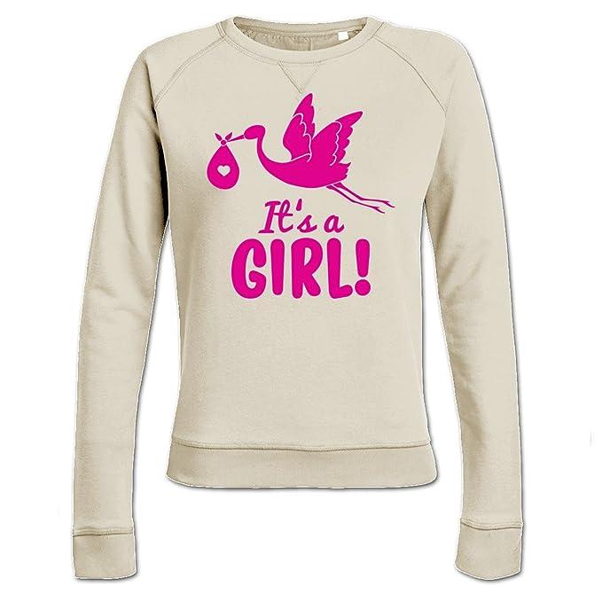 Sudadera de mujer Its A Girl Stork by Shirtcity