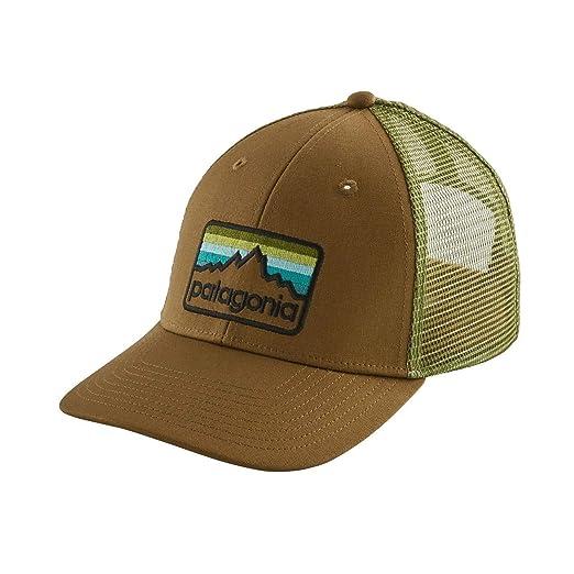 Amazon.com  Patagonia Line Logo Badge LoPro Trucker Hat (Coriander ... 354ea000046