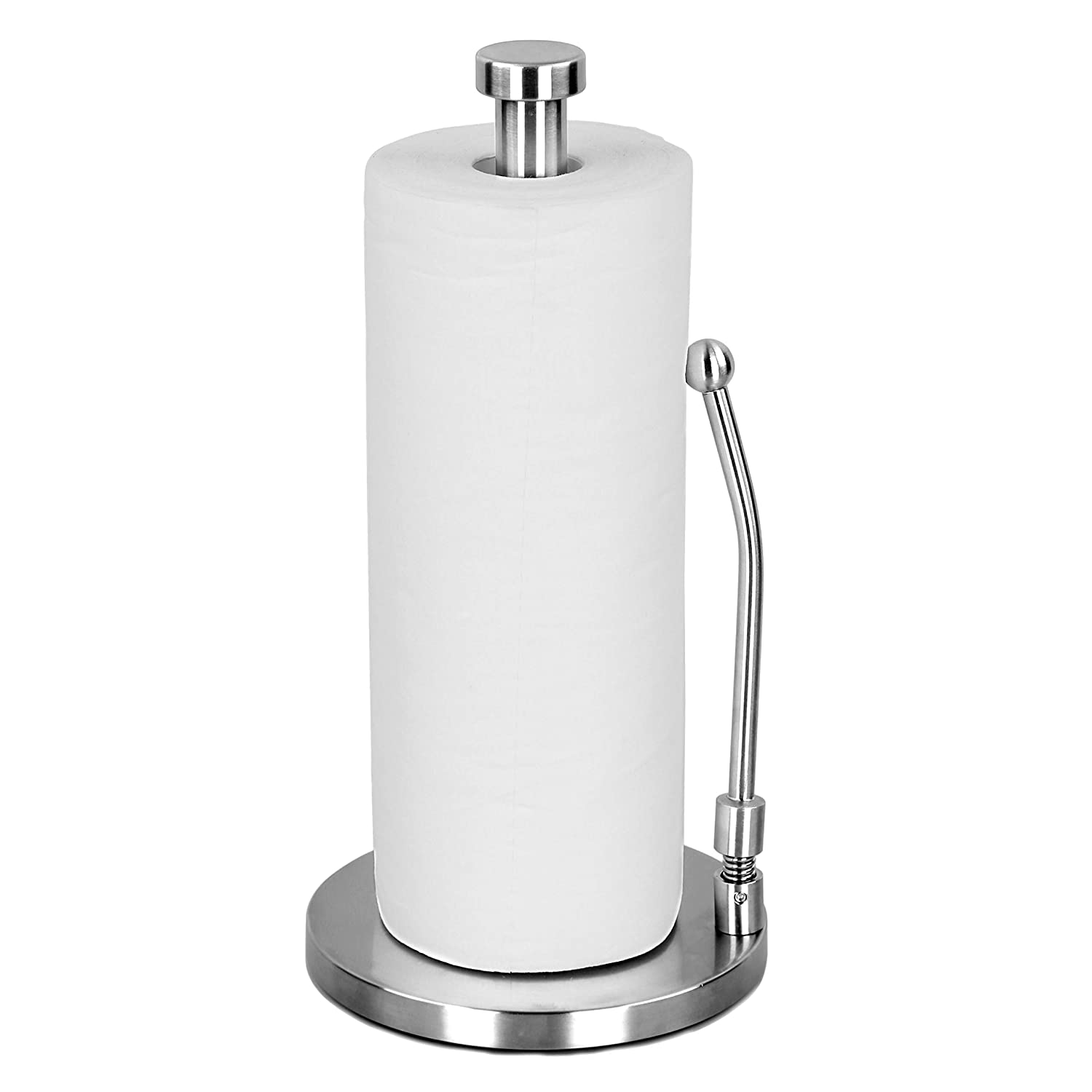 88727e5df28 Vitchen Paper Towel Holder Kitchen Countertop Roll Holder Paper Towel Rack  Dispenser Standing Tabletop Tissue Holder