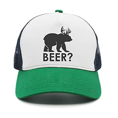 oningw Gorra de béisbol Cerveza Oso Ciervo Moda Divertida Gorras ...