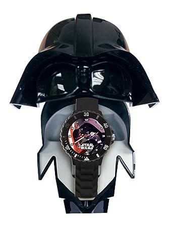 Star Wars - Reloj analógico con Estuche y Casco, (Kids SW-92223)