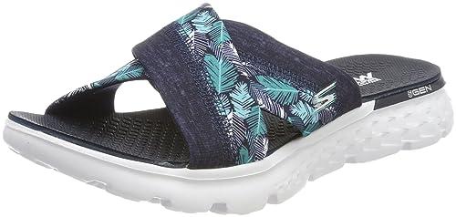 Skechers On The Go 400 Tropical Sandal Gray Grau