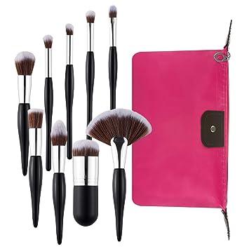 Amazon.com: Nxconsu - Juego de brochas de maquillaje con ...