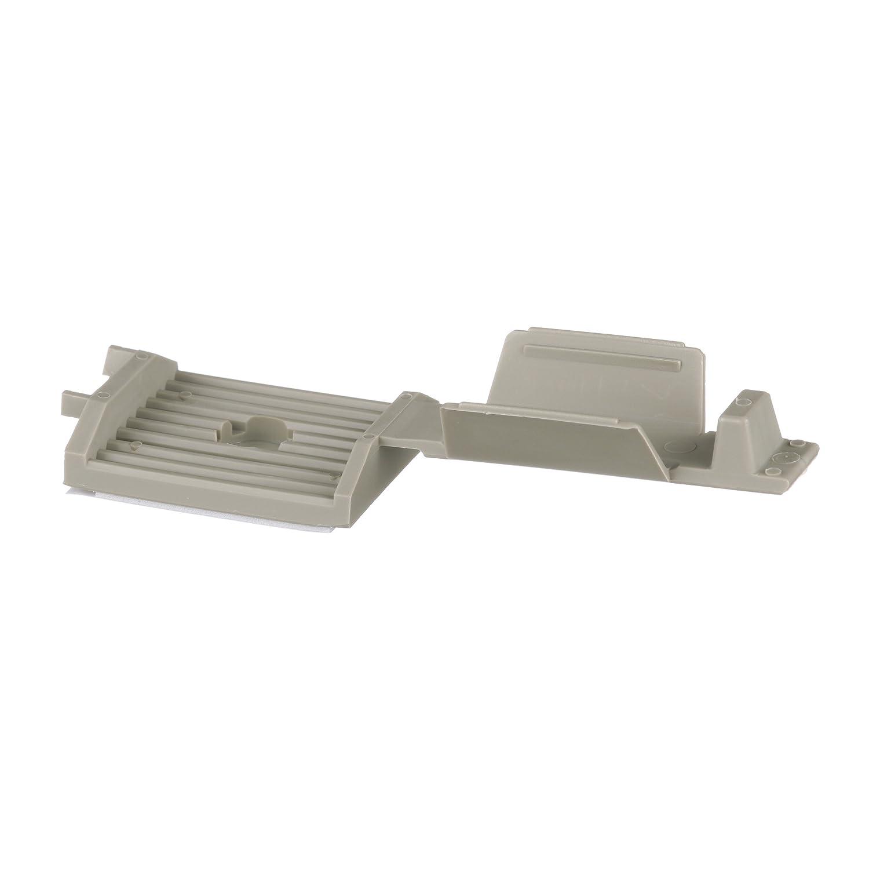 B00B5LQMHS Panduit FCM2-A-C14 Latching Flat Cable Mount, Adhesive Backed, Rubber Adhesive Mounting Method, Gray (100-Pack) 71Ad0-NVFmL._SL1500_