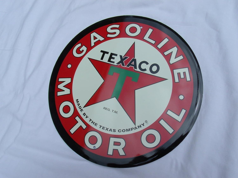 Texaco Gasoline Sign The Texas Company  Extra Large
