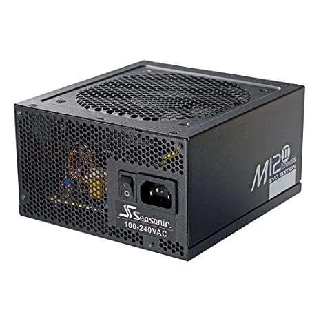 Amazon com: Seasonic MI2 II 620W EVO 80 Plus Bronze Alimentation