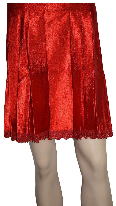 Edel Trachtenschürze aus Polyester Dirndlschürze in Rot