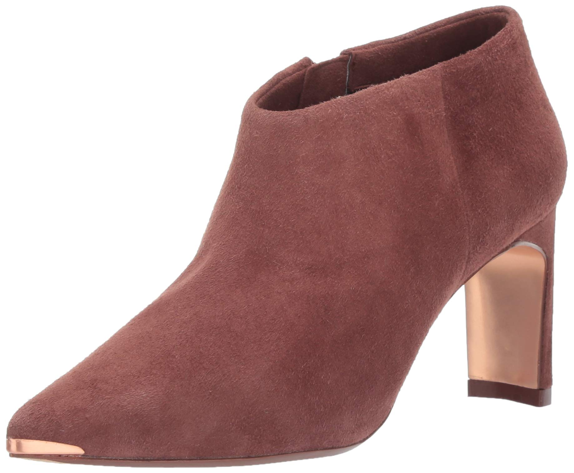 Ted Baker Women's Leiyla Fashion Boot, Conker Suede, 6.5 Medium US