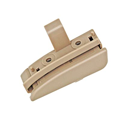 GreatUs 41042 Center Console Latch 58910AD030B0 Console Lid Lock fits for 2005-2012 Toyota Tacoma- Beige: Automotive