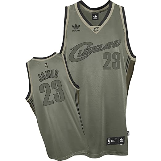 Lebron James Cleveland Cavaliers NBA Officially Licensed Field Issue  Swingman Jersey (2X Large) 819757ad3