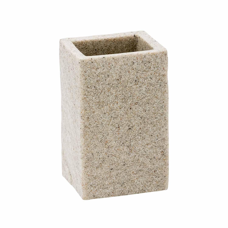 Syl sabbia in poliresina mod Porta Spazzolini Da Appoggio col